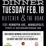Green Flash & Ballast Point Beer Dinner