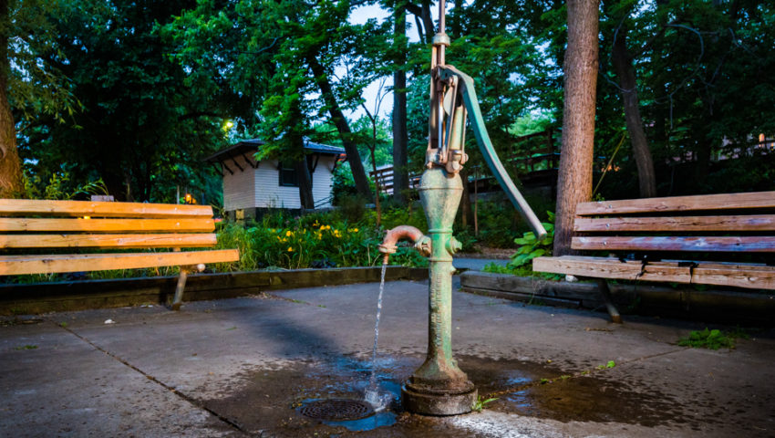 Parks—and Water—For the People: The history of Minneapolis' hand-pump drinking wells