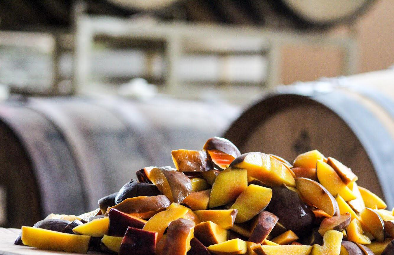 Insight Brewing's Pit of the Peach // Photo via Insight Brewing's Facebook