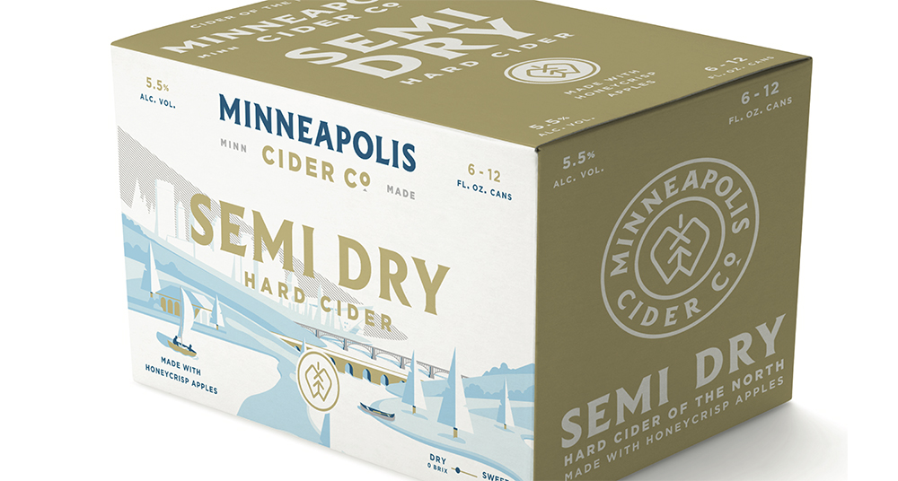 Lionheart Cider has rebranded itself Minneapolis Cider Company and unveiled plans to build a cidery and taproom in Minneapolis // Image courtesy of Minneapolis Cider Company
