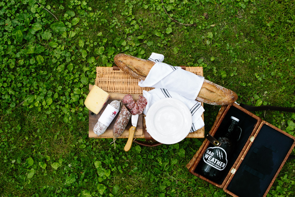 Picnic spread with salumi from Red Table Meat Company // Photo by Wing Ta