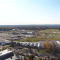 The site of the former Ford assembly plant is the center of a controversy over the future of St. Paul's Highland Park neighborhood // Photo courtesy of City of St. Paul