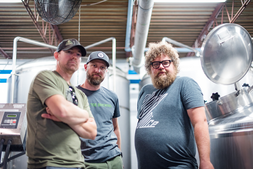 Steel Toe and Surly are one of the teams that created a collaboration beer for In Cahoots! 2017 // Photo by Kevin Kramer, The Growler