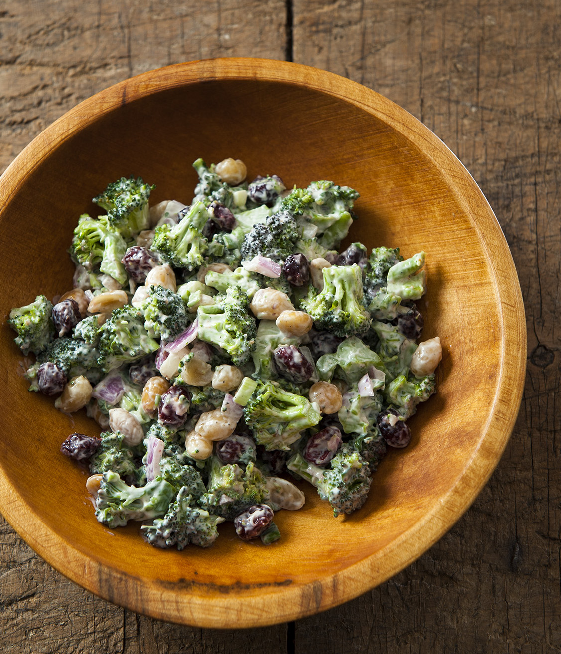 Beth Dooley's easy to make broccoli salad recipe // Photo by Mette Nielsen