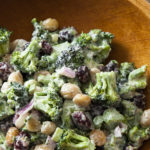 Cooking with Beth Dooley: Broccoli salad with peanuts and cranberries recipe