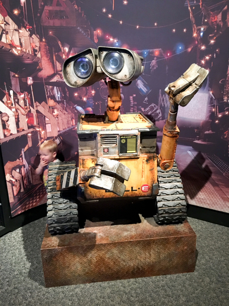 Wall-E at Science Behind Pixar // Photo by Patrick Strait