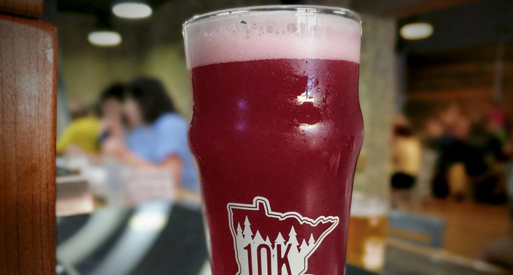 10K Brewing's Babe the Blue Ox // Photo via 10K's Facebook