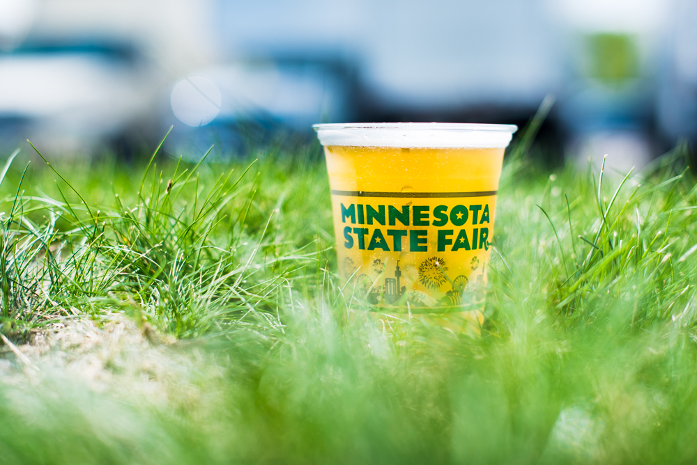 The Growler's Joseph Alton and John Garland visit the Minnesota State Fair and take a tasting tour of all the new beers // Photo by Kevin Kramer, The Growler