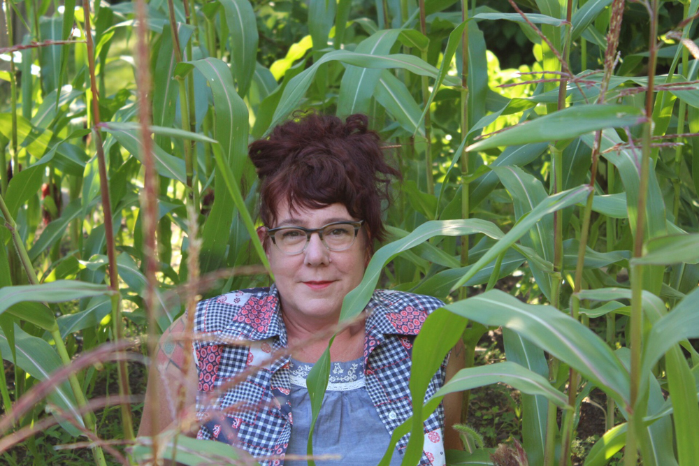 Seed artist Liz Schreiber // Photo by Ruby Shakes
