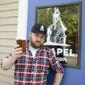 Andrew Burns of Chapel Brewing // Photo by Louis Garcia