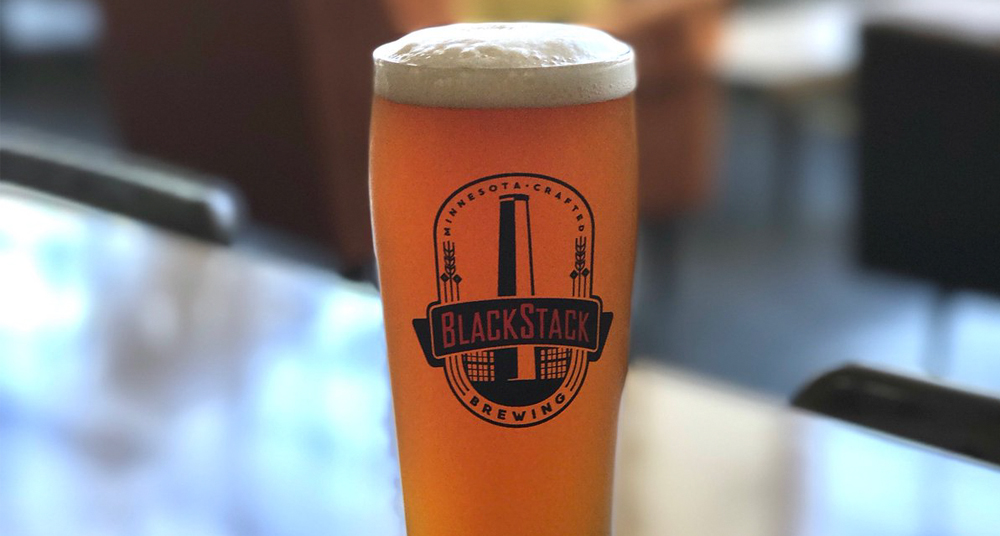 BlackStack's new Prior Pale Ale is now available at the taproom // Photo via BlackStack's Twitter