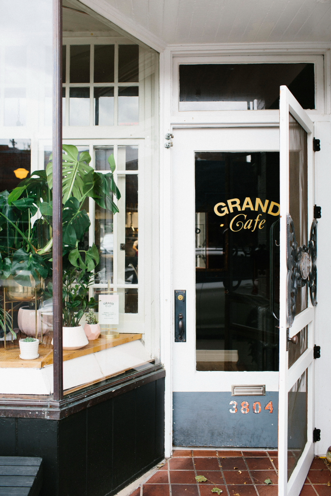 Grand Cafe's new owners Jamie Malone and Eric Anderson look to balance the restaurant's reputation with their vision // Photo by Wing Ta