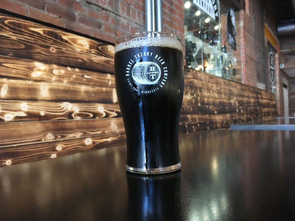 Barrel Theory Java Oats Coffee Oatmeal Stout // Photo courtesy of Barrel Theory