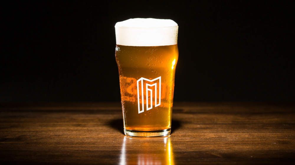 Modist First Call Cold Press Coffee Lager // Photo courtesy of Modist Brewing