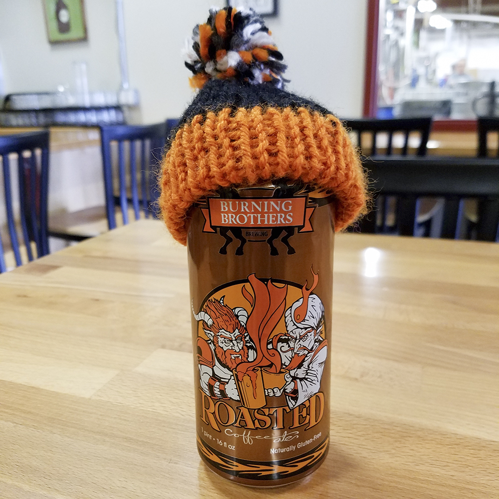 Burning Brothers Roasted Coffee Strong Ale // Photo courtesy of Burning Brothers Brewing