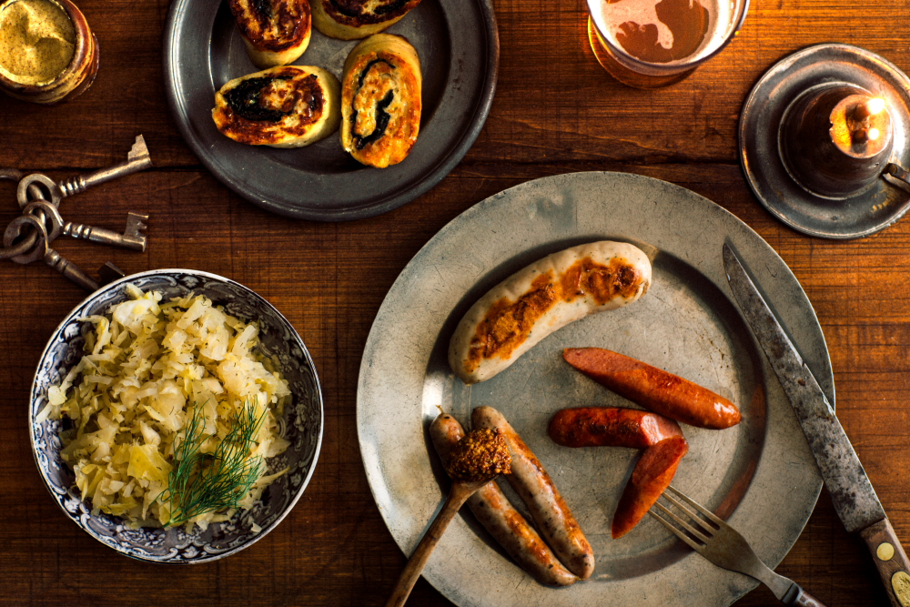 Waldmann Brewery & Wurstery will serve German sausages and sides to complement its German-style lagers // Photo courtesy of Tom Schroeder & FreshCoast Collective
