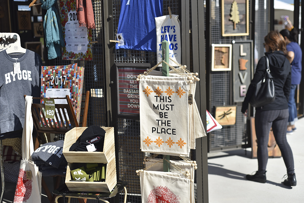 Rummage, a pop-up craft market, is back for its second year // Photo by Kevin Kramer