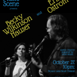 The Local Music Scene presents: Becky Wilkinson Hauser and Erik Ostrom