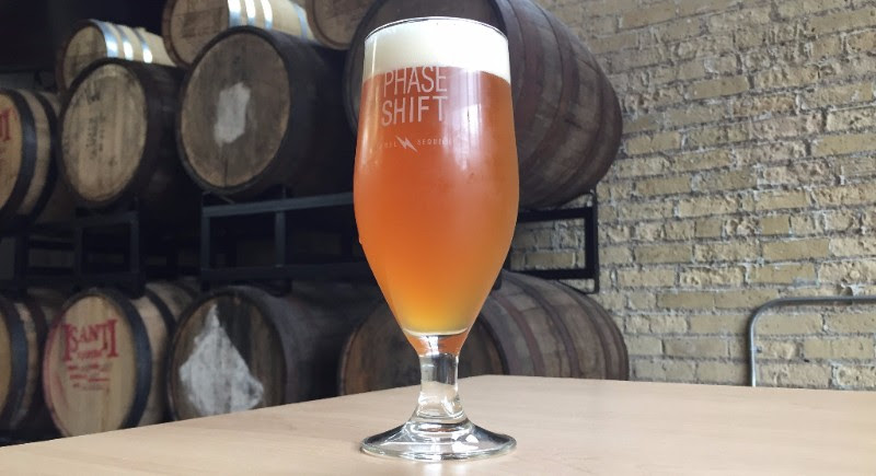 Tin Whiskers Phase Shift // Photo via Tin Whiskers Brewing