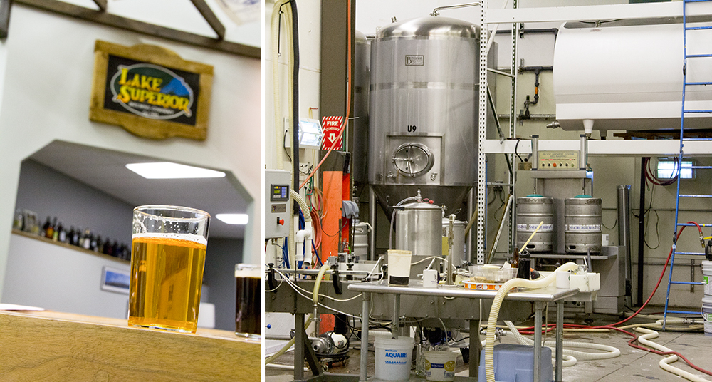 Lake Superior Brewing Company, established in 1994, has new owners // Photos by Brian Kaufenberg