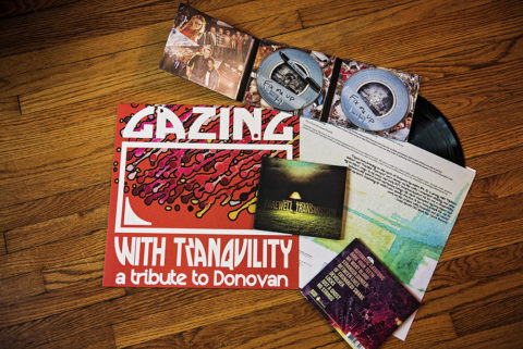 Some of the records and albums produced by Rock The Cause Records // Photo by Madalyn Rowell
