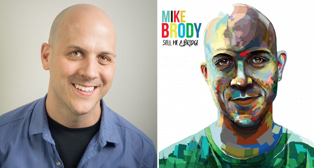 """Comedian Mike Brody is launching his new comedy album """"Sell Me a Bridge"""" with three nights at Joke Joint Comedy Club // Courtesy of Mike Brody"""