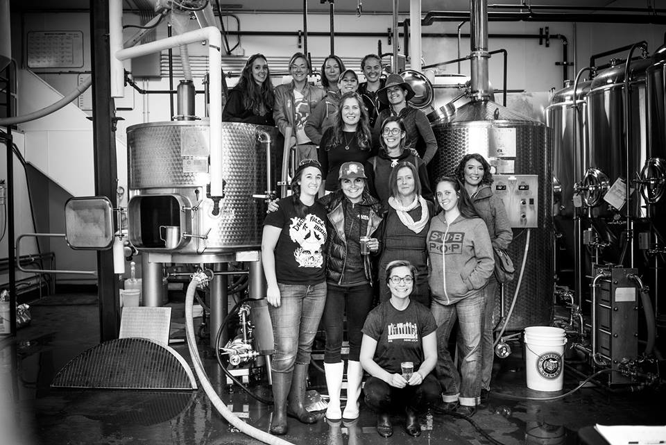 The brewing crew of The WitchHunt // Photo by Davin Haukebo-Bol