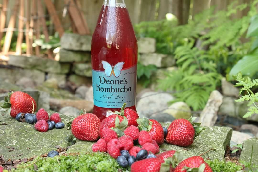 Photo courtesy of Deane's Kombucha