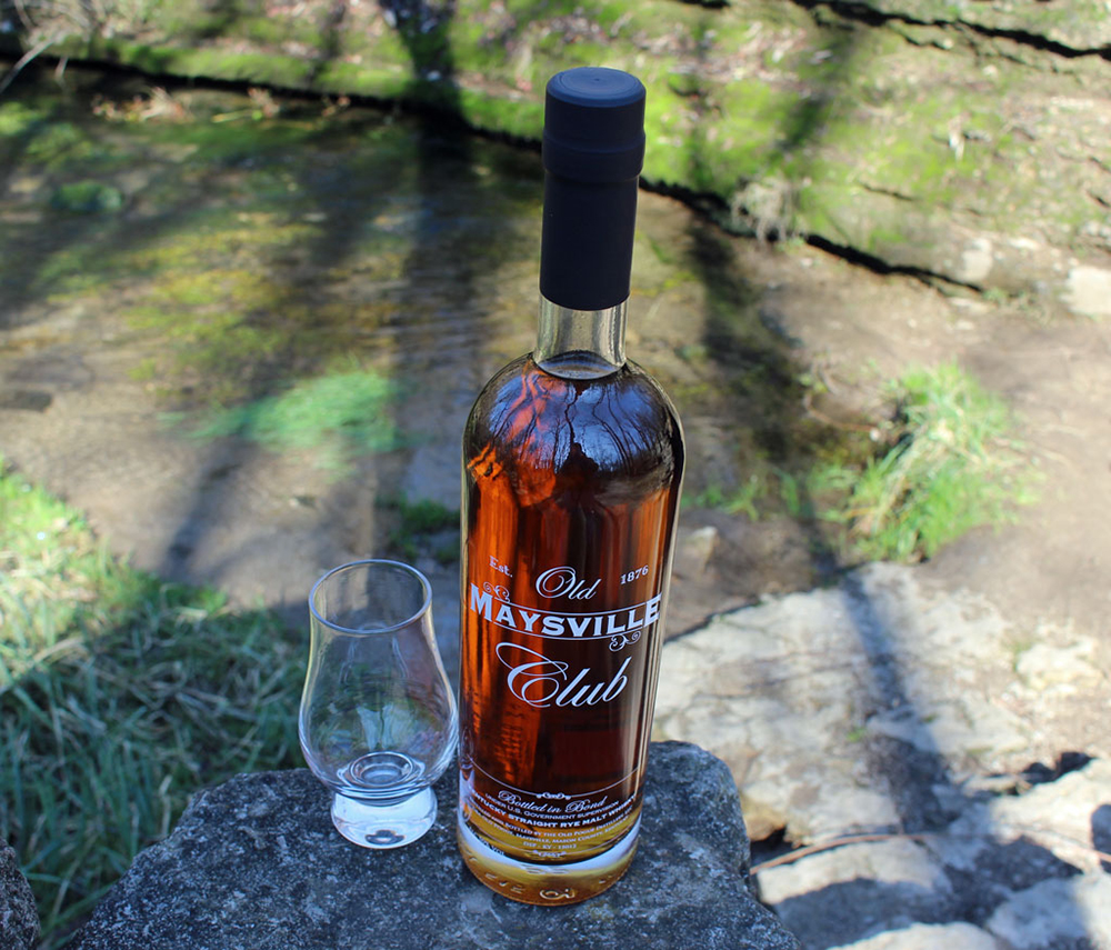Old Pogue Distillery's Old Maysville Club Rye Malt Whisky Bottled in Bond // Photo by Richard Thomas