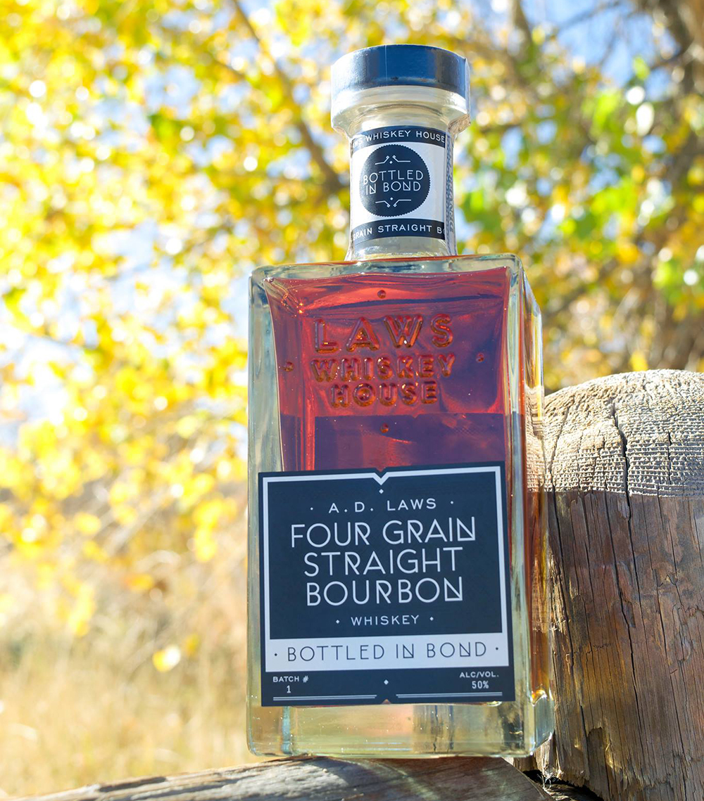 A.D. Law's Four Grain Straight Bourbon, Bottled-In-Bond // Photo courtesy A.D. Law