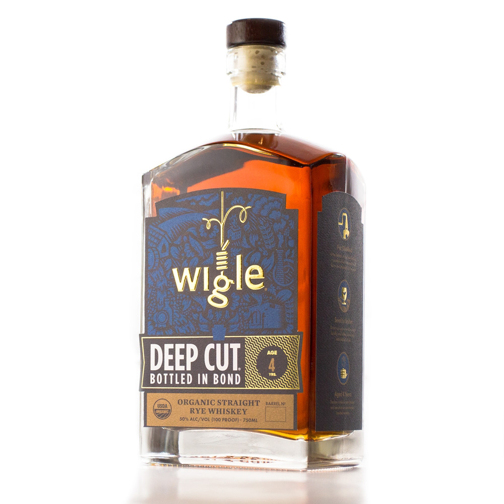 Wigle Whiskey's Deep Cut Bottled in Bond Organic Straight Rye Whiskey // Photo Courtesy Wigle Whiskey Distillery