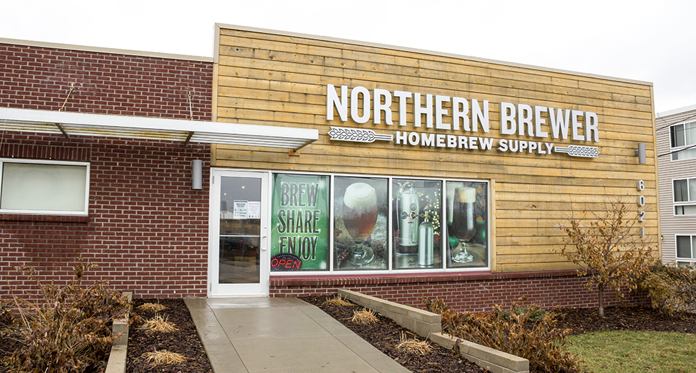 Northern Brewer's Minneapolis location is getting a facelift with a new tasting bar and TVs // Photo by Brian Kaufenberg