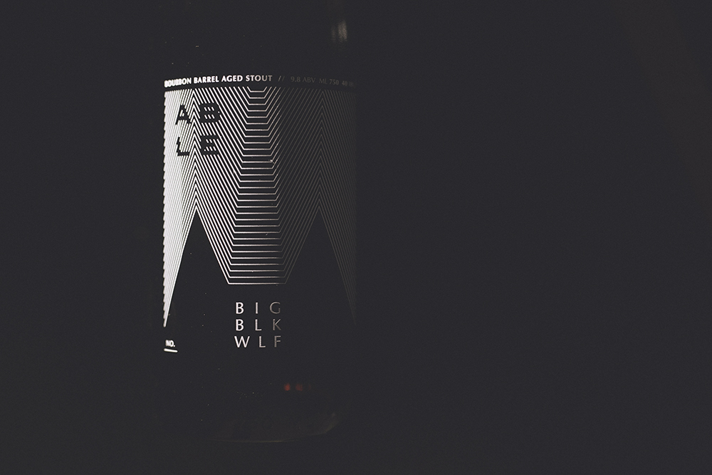 Able Seedhouse + Brewery's BIG BLK WLF // Photo courtesy of Able Seedhouse