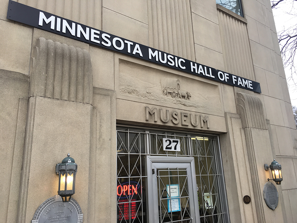 The Minnesota Music Hall of Fame's entrance // Photo by Jay Gabler, 89.3 The Current