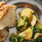Cooking with Beth Dooley: Indian Spiced Potatoes & Spinach Recipe