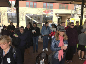 A crowd at the St. Paul Farmer's Market // A Growler Magazine Photo