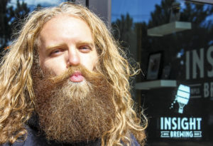 Matt Anhalt, and his beard, of Insight Brewing Co. // A Growler Magazine Photo