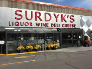 Surdyk's Liquor & Wine store in NE Minneapolis // Photo via Surdyk's Facebook