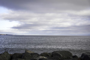 A view of Lake Superior from along the North Shore // A Growler Magazine Photo