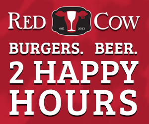 Red Cow New Happy Hour Ads 2017 Tile