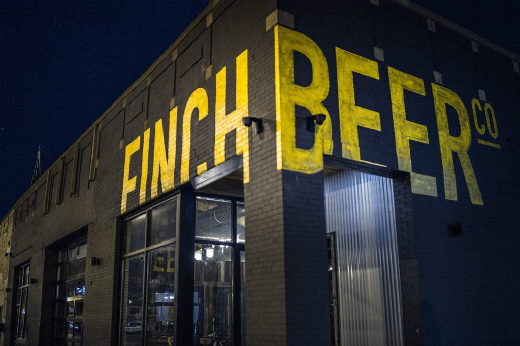 The Finch Brewing Company Exterior // Photo courtesy Finch Brewing Company Facebook