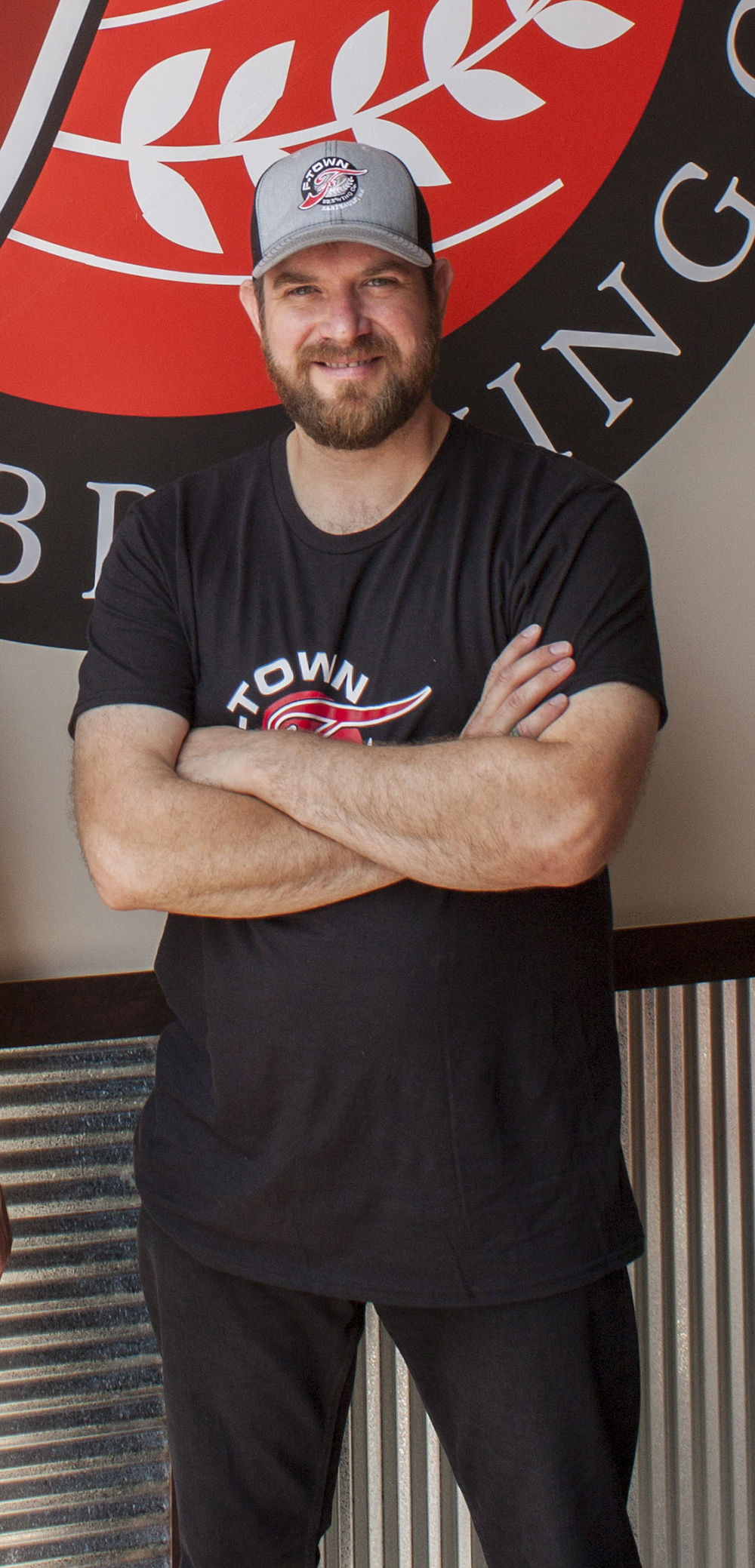 Travis Temke at F-Town Brewing in Faribault, Minnesota in July of 2015 // Photo by Brian Kaufenberg, The Growler