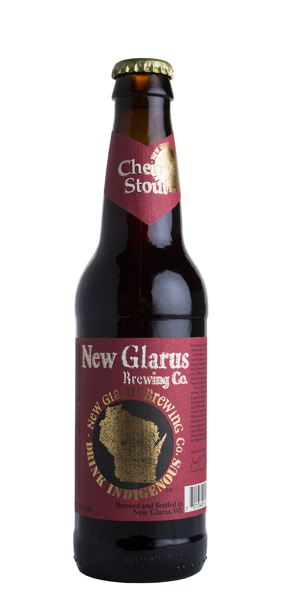 New Glarus Brewing Company's Cherry Stout // Photo by Aaron Job, The Growler