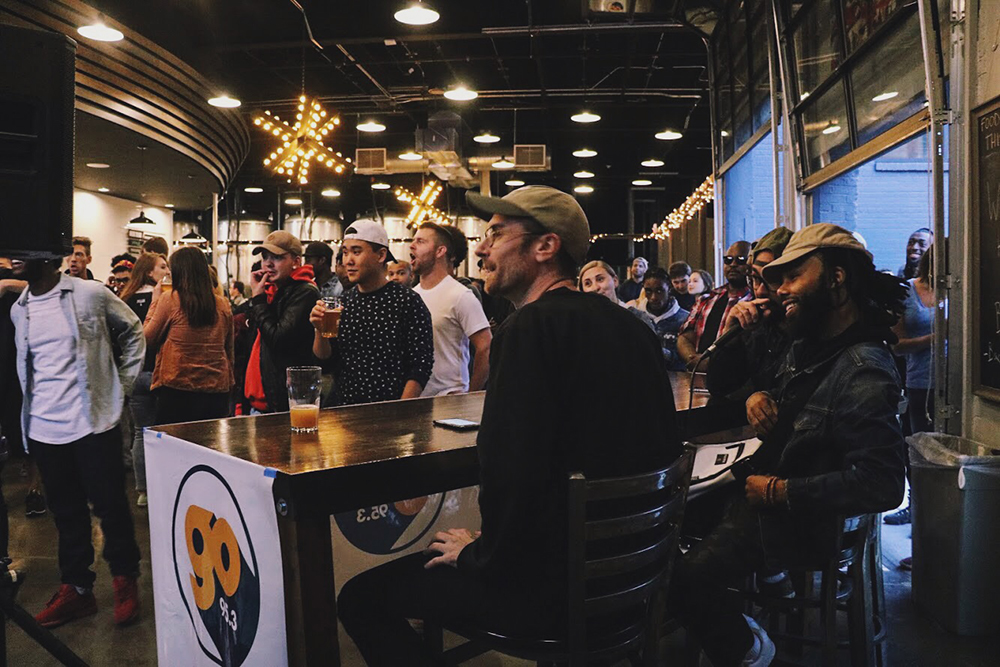 Modist Brewing Company's Hip Hop night in partnership with GoMN 95.3 // Photo courtesy of Modist Brewing Company, Dan Wellendorf