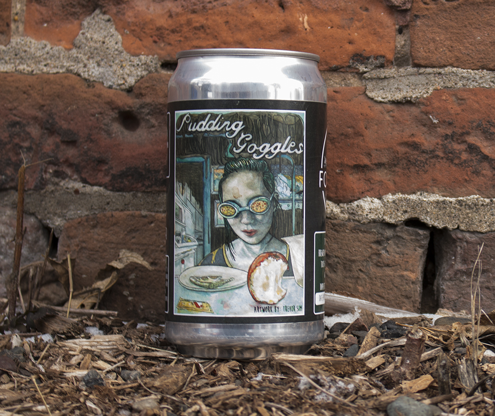 Forager Brewing's Pudding Goggles Crowler // Photo by Aaron Job
