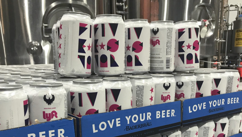 Lyft-branded beer debuting in Chicago, includes ride discounts
