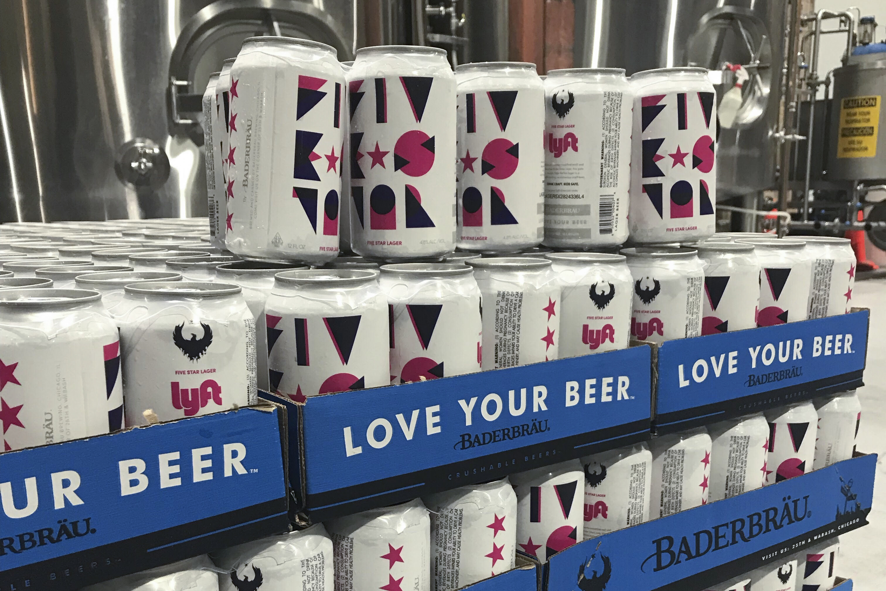 Lyft Branded Beer Will Launch Next Week In Chicago