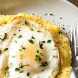 Cooking with Beth Dooley: Polenta and fried egg recipe