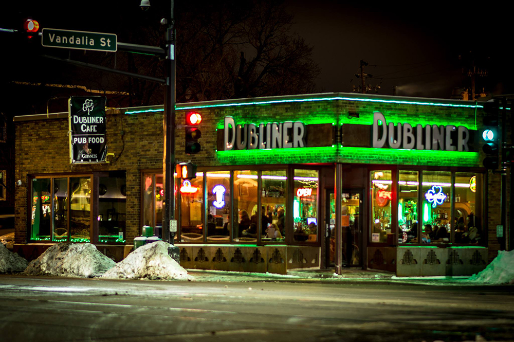 The Dubliner Pub and Cafe // Photo by Kevin Venerus, courtesy Dubliner Pub and Cafe Facebook