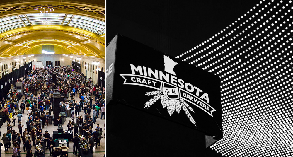 Minnesota Craft Brewers Guild 17th annual Winterfest is coming on February 16, 2018 // Photos via Minnesota Craft Brewers Guild's Facebook
